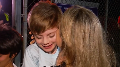 Lenny Silveira reunited with mum in Queensland