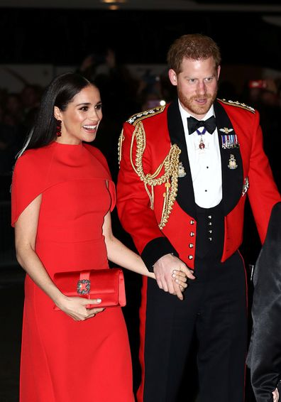 Meghan and Harry at the Mountbatten Music Festival on March 7 in London.