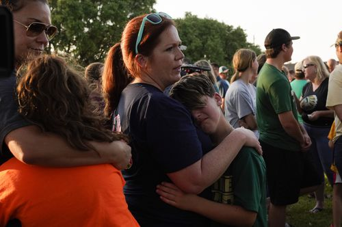 Students have been left reeling at the devastating loss of their fellow classmates. (AAP)