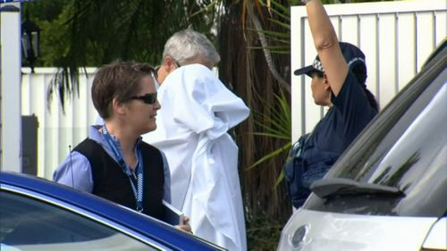 Playford was arrested after being found in the Gold Coast hinterland.