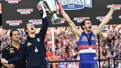 The Western Bulldogs celebrated an historic grand final win, claiming their first AFL flag in 62 years. (AAP)