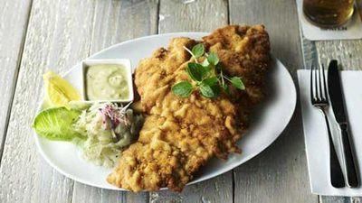 <strong>Munich Brauhaus' chicken schnitzel</strong>