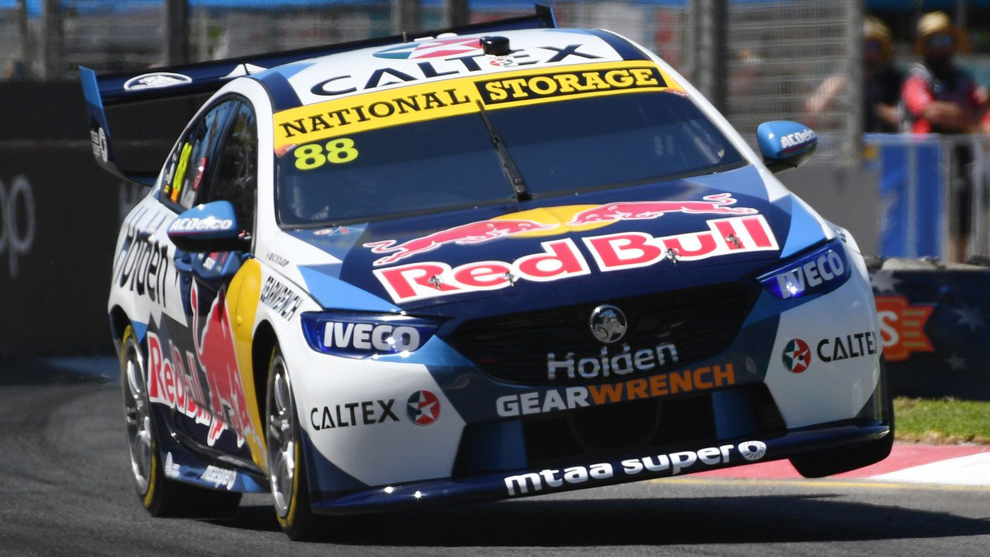 Whincup secures pole at Adelaide 500