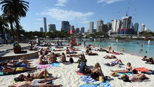Revellers have been urged to stay sun-safe. (AAP file image)