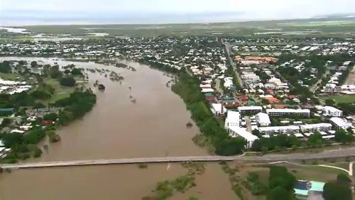 The floods have sparked massive devastation across Queensland.