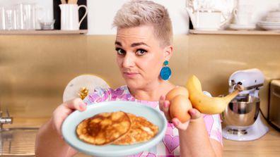 Jane de Graaff cooks up the two-ingredient banana pancake trick