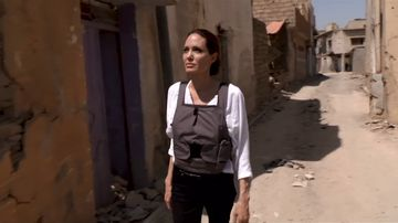 'The worst devastation I have seen': Angelina Jolie tours Mosul