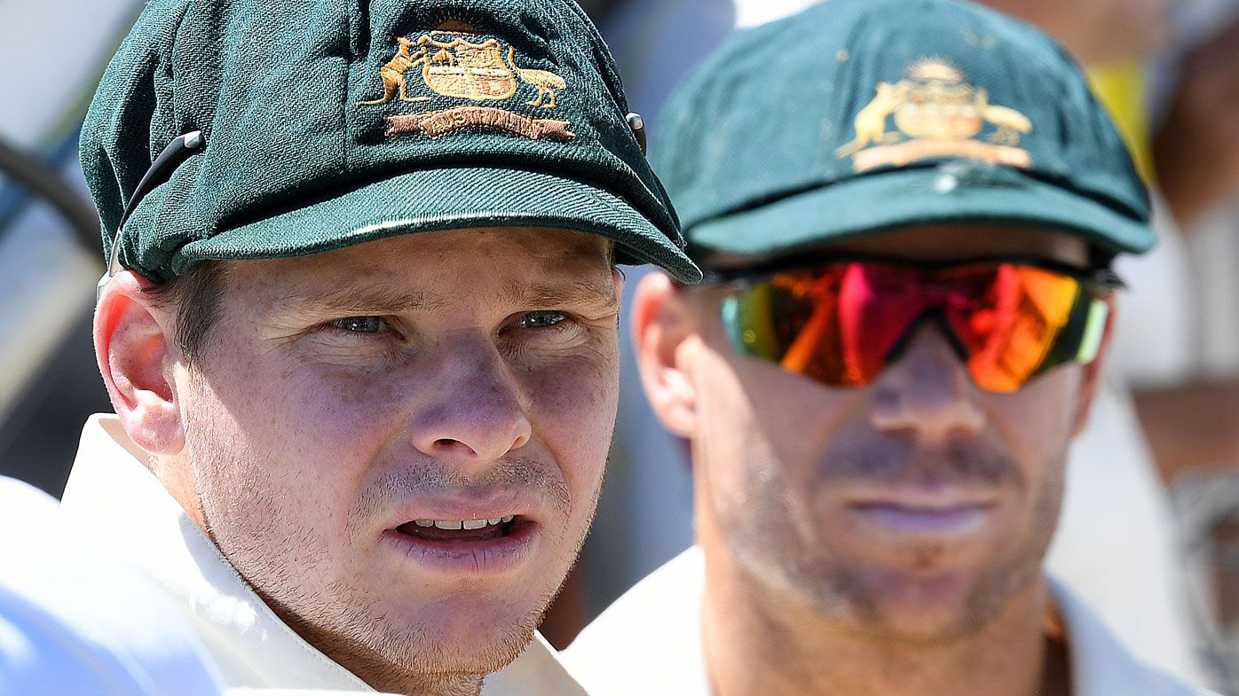 Australian captain Steve Smith and vice-captain David Warner facing year-long bans over ball tampering crisis