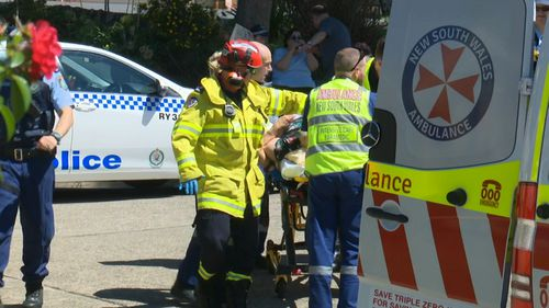 Both women have been transported to Westmead Hospital. (9NEWS)