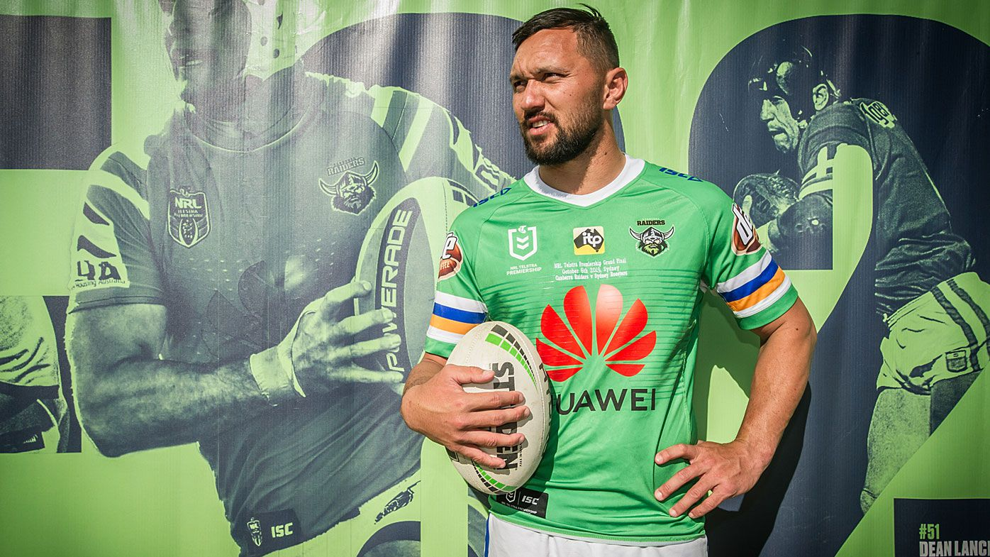 Jordan Rapana could be playing his last game for the Raiders