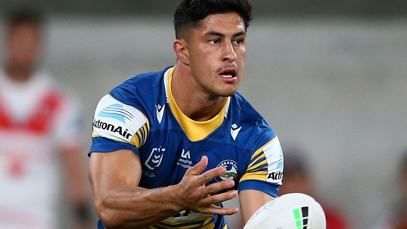 Parramatta's Dylan Brown facing suspension over crusher tackle
