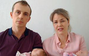 Couple stranded in Ukraine with newborns twins in emotional appeal to Prime Minister Scott Morrison