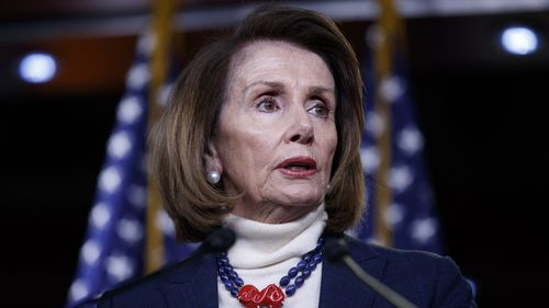 Nancy Pelosi had earlier suggested the State of the Union address be rescheduled.