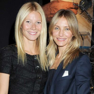 Gwyneth Paltrow and Cameron Diaz in 2011.