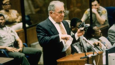F Lee Bailey at O.J. Simpson trial