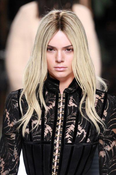 Kendall Jenner went platinum blonde hair