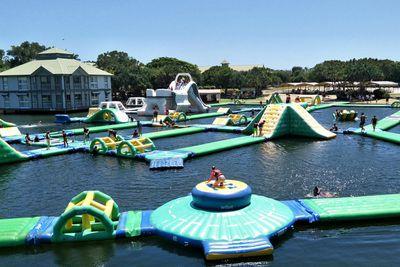 <strong>2. Aqua Fun Park &ndash;&nbsp;Twin Waters, Queensland</strong>