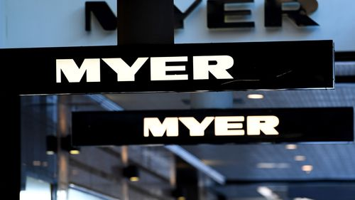 Myer has its annual strategy day today where it will update investors on its five-year plan and possibly revise its targets. (AAP)
