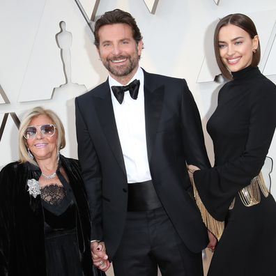 Bradley Cooper and his mother Gloria Campano