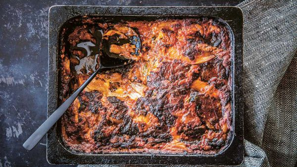 Guy Grossi's melanzane parmigiana recipe