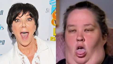 Reality mums at war: Kris Jenner thinks Honey Boo Boo's mum is 'exploiting' her