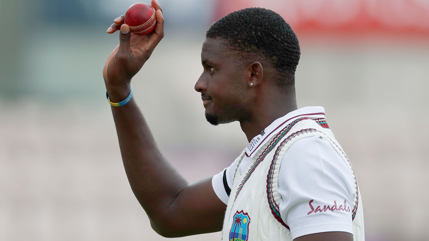 Jason Holder took six wickets in the first Test against England.