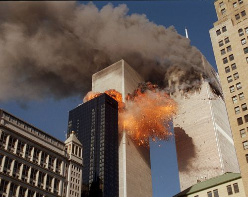 In one of the most horrifying attacks ever against the United States, terrorists crashed two airliners into the World Trade Center in a deadly series of blows that brought down the twin 110-story towers.
