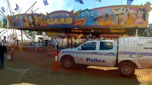 Carnival worker dies at Queensland show
