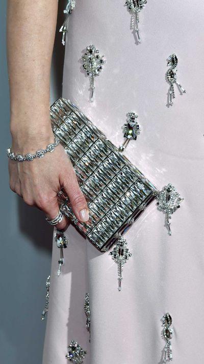 Emily Blunt's Judith Leiber bag.