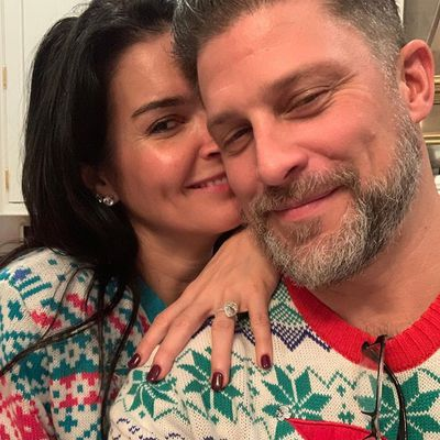 Angie Harmon and Greg Vaughan
