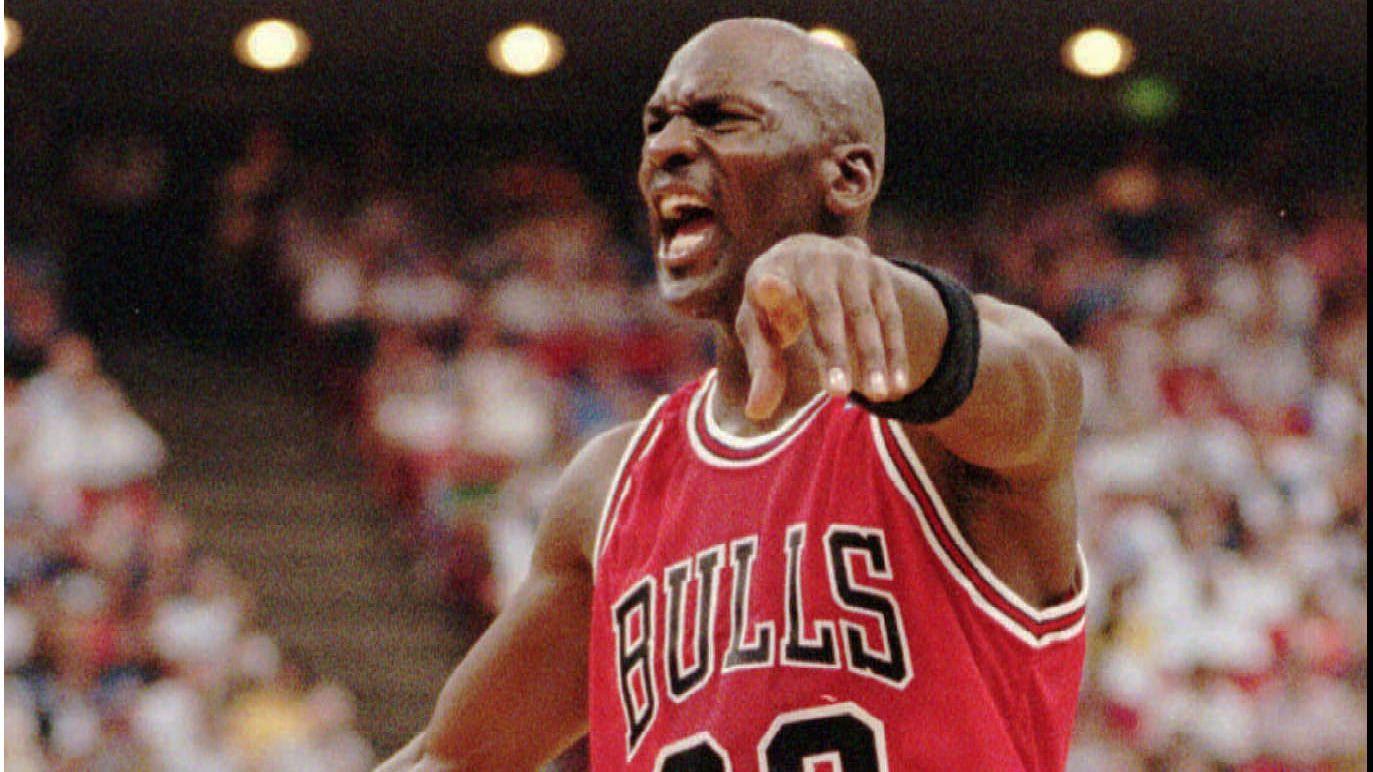 NBA legend Michael Jordan.