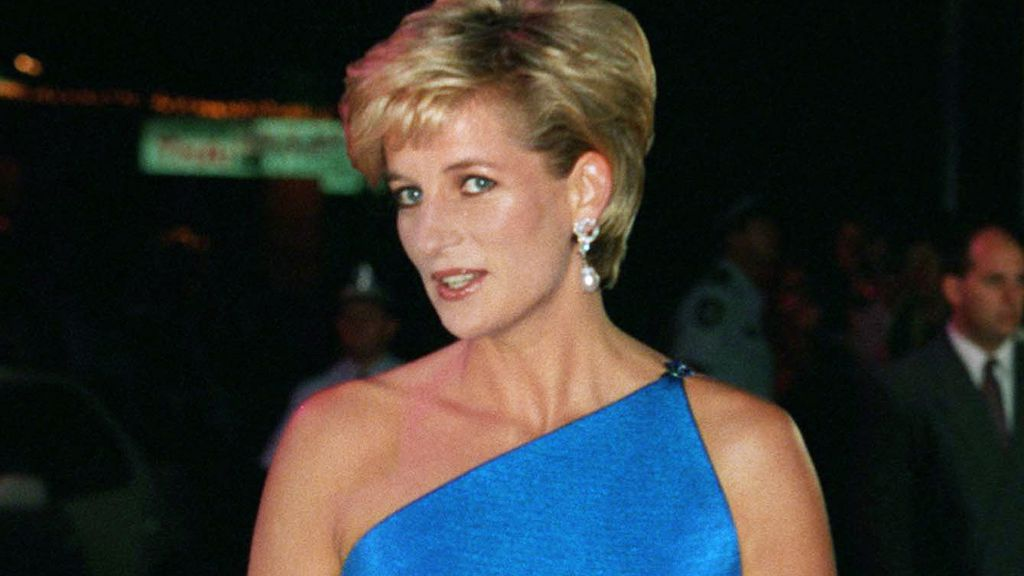 Princess Diana on the runway