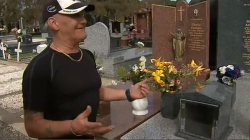 """""""It makes the grieving process harder,"""" Mr Clayton told 9NEWS. (9NEWS)"""