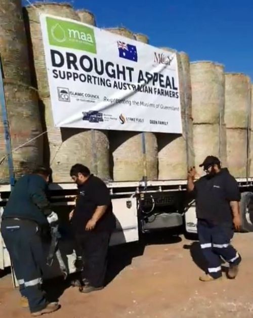 Muslim Charitable Foundation helps drought affected farmers