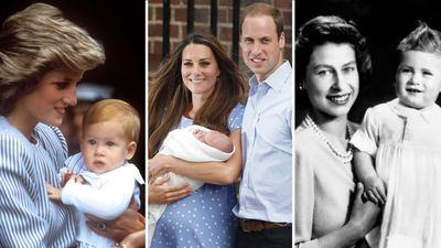 The royal baby traditions we don't always witness