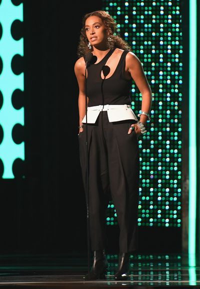 Solange Knowlesat the Bet Awards 2017, Los Angeles.