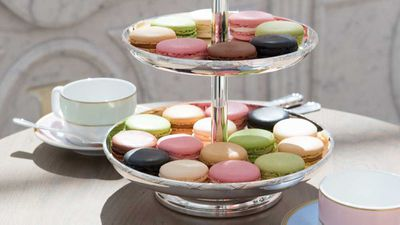 You can of course sip tea, nibble chocolates and purchase sweet smelling candles from the Ladurée range too, but we'd be lying if we said that the macarons aren't the main attraction.