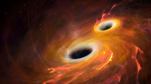 Astronomers spot a trio of black holes on a devastating collision course