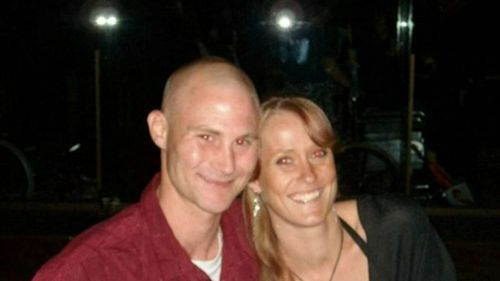 Richard Powell and Jessie Donker had an abusive relationship. (Supplied)