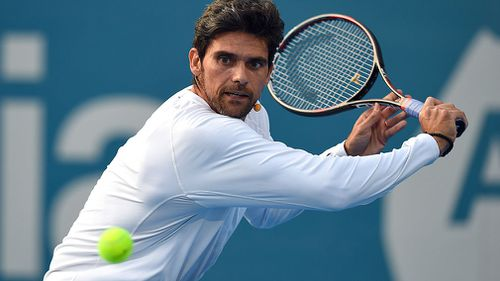 Aussie tennis star Mark Philippoussis. (AAP)