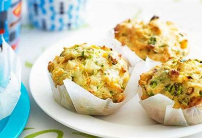 "Recipe: <a href=""/recipes/izucchini/8348637/zucchini-and-corn-muffins"" target=""_top"">Zucchini and corn muffins</a>"