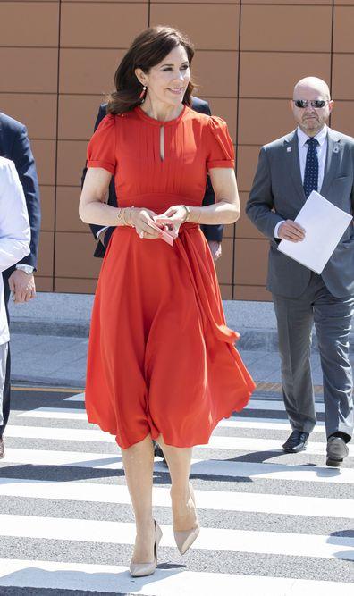 Princess Mary ends South Korea tour