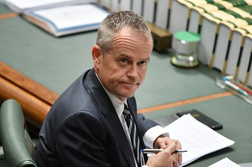 Bill Shorten has labelled the government's tax cuts to the wealth 'a political joke' and 'irresponsible'. Picture: AAP