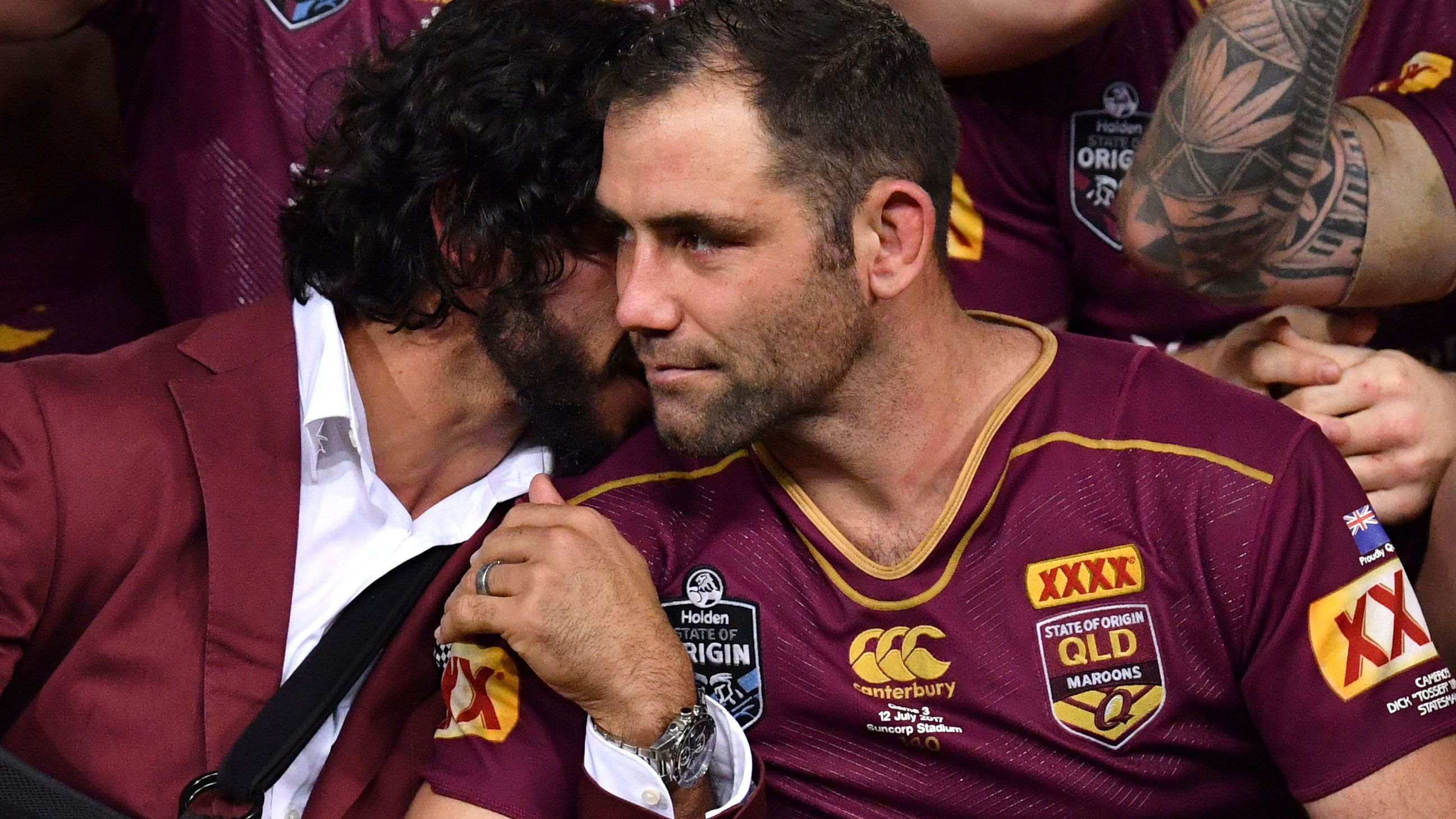 Maroons beg Cameron Smith to make State of Origin return