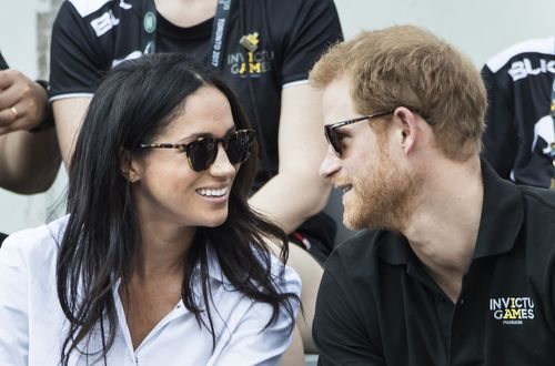 Markle and Prince Harry have been dating for more than a year, and made a splash at the Invictus Games in October. (AAP)