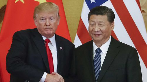Donald Trump has had a tense relationship with Chinese Premier Xi Jinping.