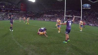 NRL: Melbourne Storm captain Cameron Smith given warning for 'concerning act' elbow in World Club Challenge against Leeds