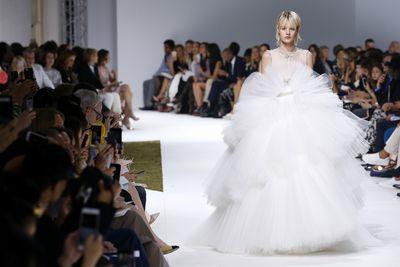 <p>The full meringue </p> <p>Giambattista Valli haute couture autumn/winter '16-'17, Paris Fashion Week</p>