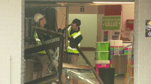 It is the third time this year North Blackburn shopping centre has been the target of a ram-raid.