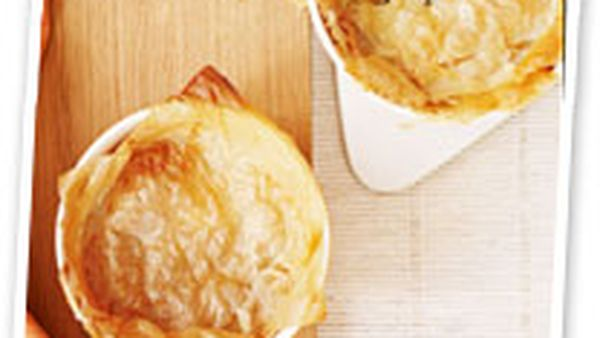 Chicken pot pies